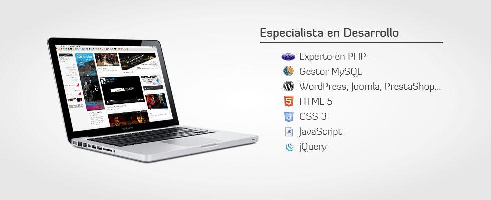 Programador Web Granada | Html5, Css3, Responsive design, jQuery